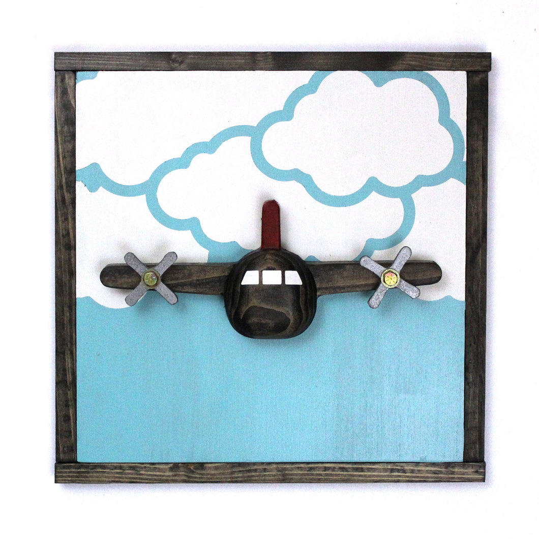 3D Airplane Wall Art