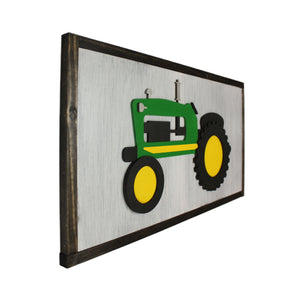 3D Vintage Tractor Sign