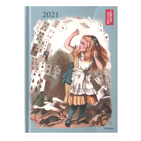 Large Magneto 'Alice in Wonderland' Diary 2021