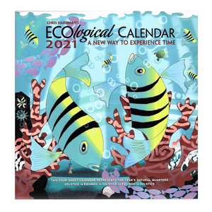 Chris Hardman, 'EcoLogical Calendar 2021: A New Way to Experience Time' Wall Calendar