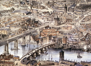 John Storey, 'An Aerial View of Newcastle'