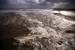 Mike Tilley, 'Wild Sea at Cullercoats'