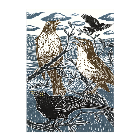 James Green, 'Blackbirds and Thrushes'