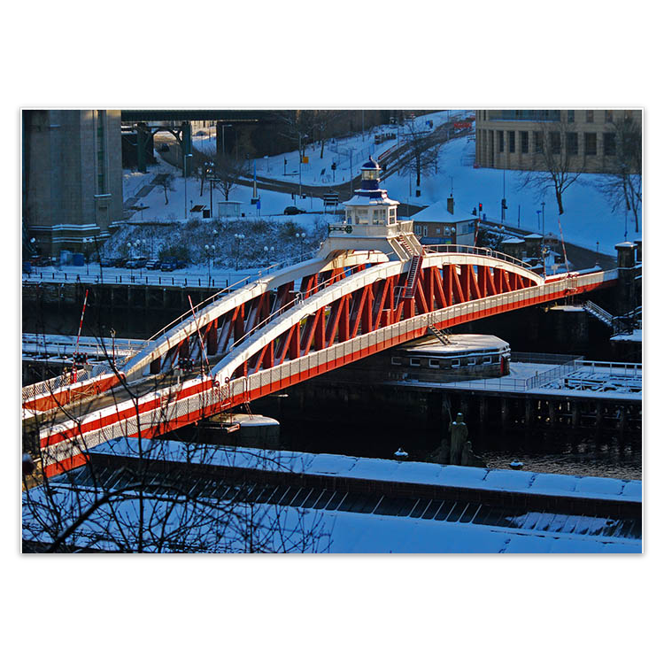 Mike Tilley, 'Snow on the Swing Bridge'