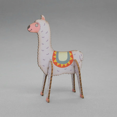 Pop Out Card ' Llama '