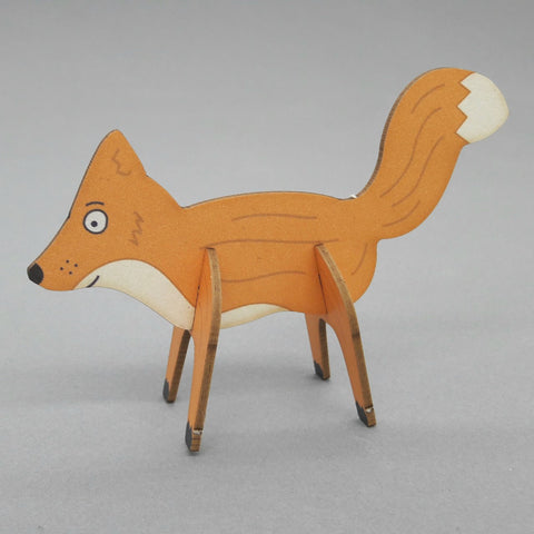 Pop Out Card ' Fox '