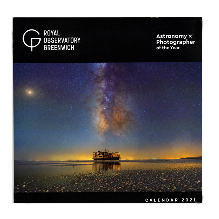 Royal Observatory Greenwich: 'Astronomy Photographer of the Year' Calendar 2021