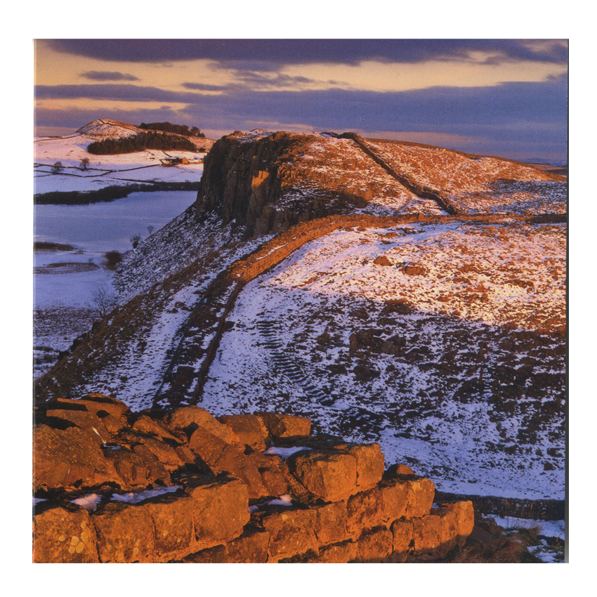 Simon Fraser, 'Hadrian's Wall, Crag Lough, Northumberland National Park' card pack