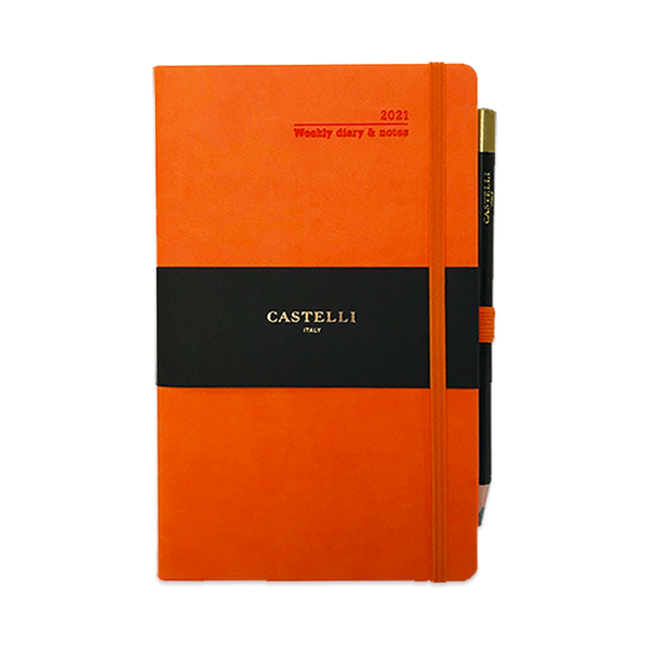 Castelli Ivory Weekly Diary 2021 Medium size