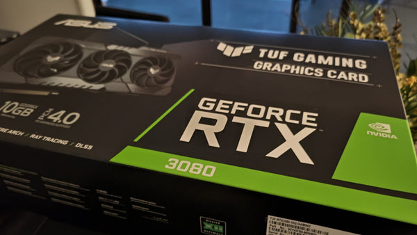 ASUS TUF nVidia RTX3080 arrives at 93 PC