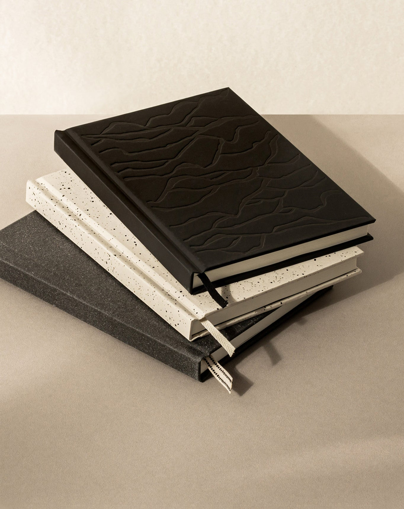 Layflat hardcover ruled A5 notebook