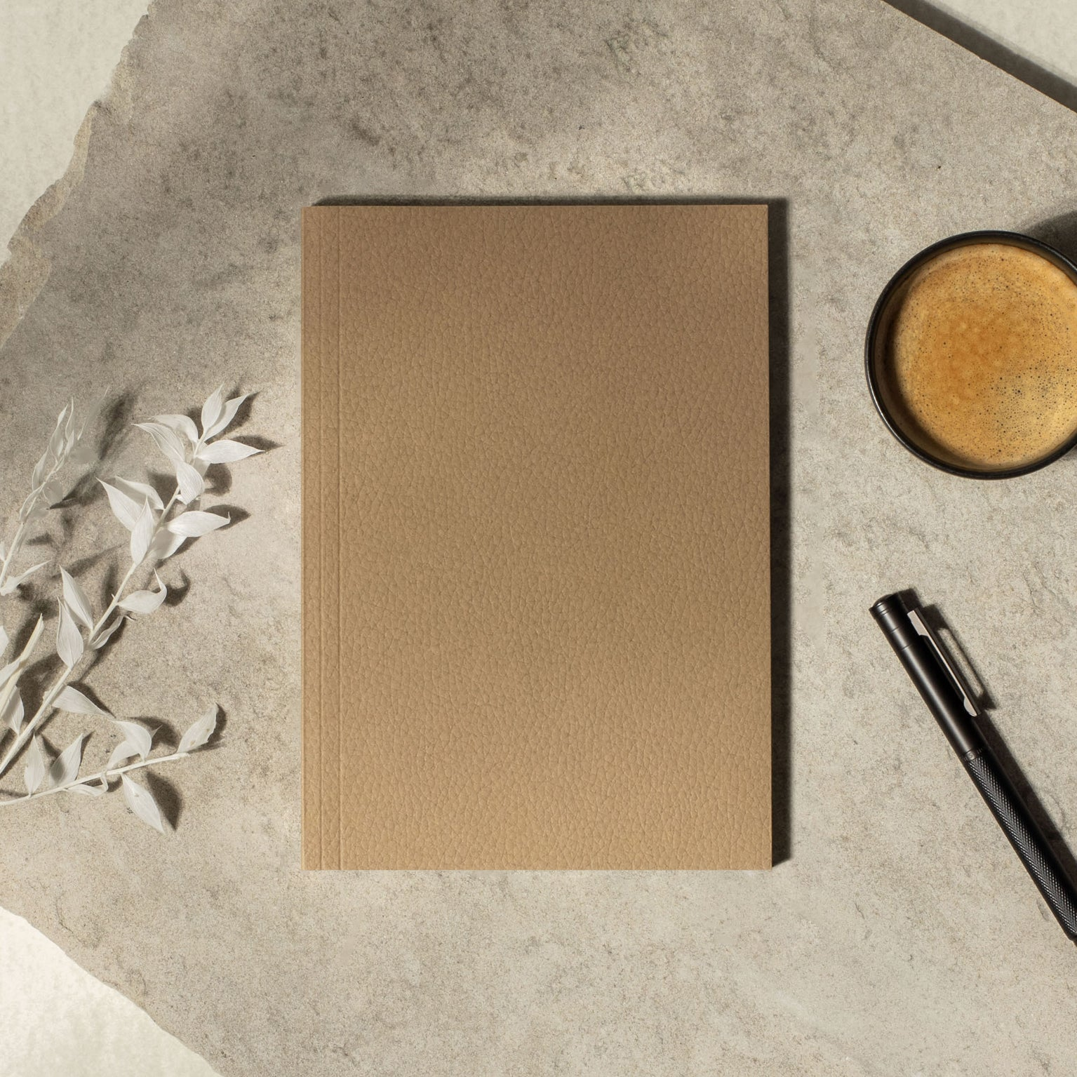 Arizona beige softcover layflat notebook