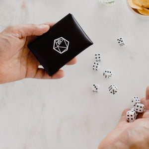 Pouch with 10x Dice for RPG & Table-Top Gaming