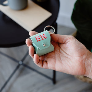 Shadow AirPods Case with Keyring Loop
