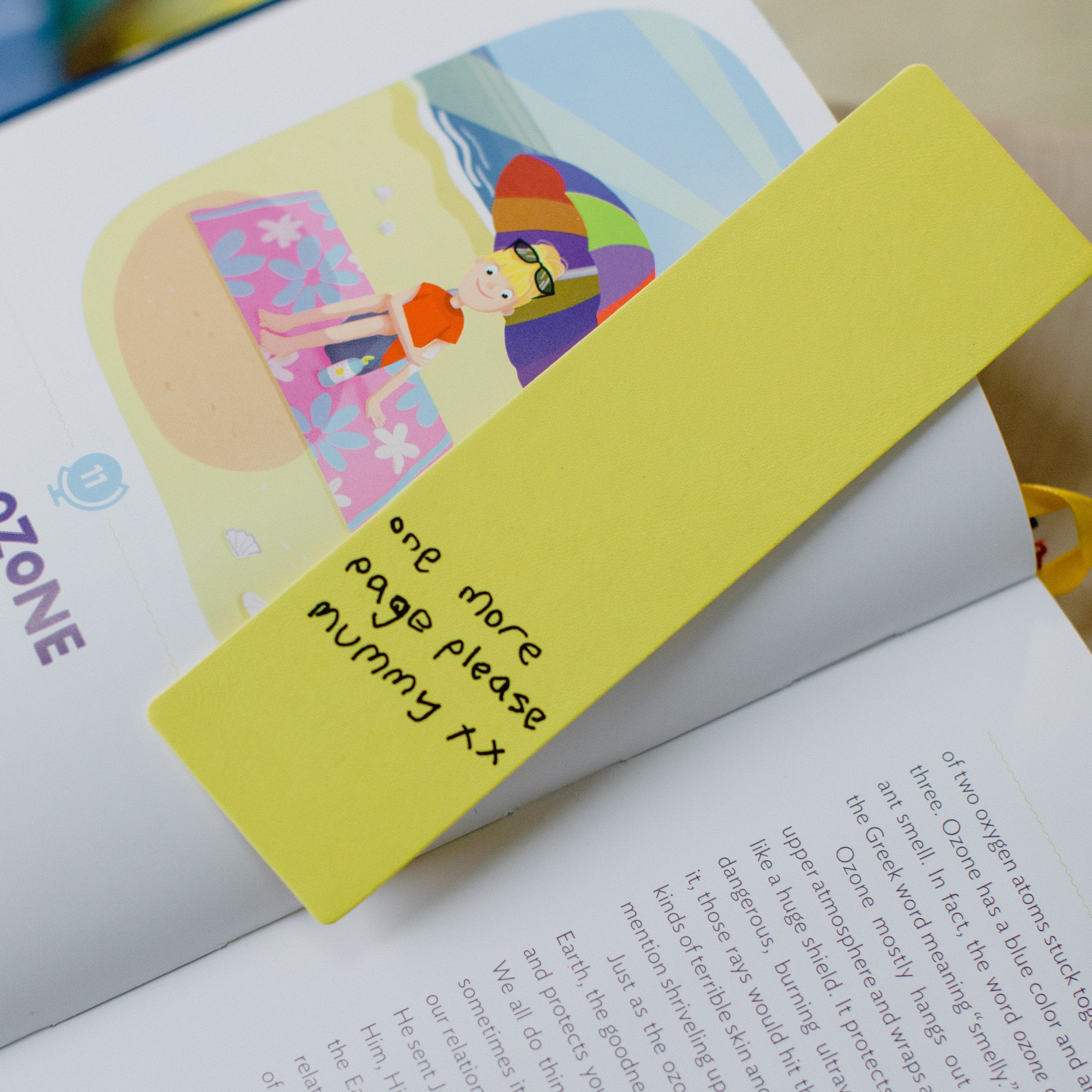 Custom Artwork Bookmark