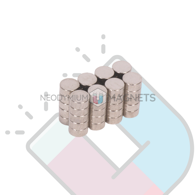 N35 - 3 x 1.3mm Disc Magnet