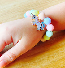 Load image into Gallery viewer, Unicorn & Rainbow Bracelet Kit
