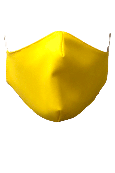 Fabric Mask - Yellow