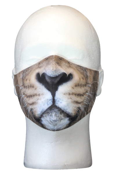 Realistic Lion Mask