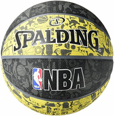 Ballon NBA GRAPHITI Spalding T7