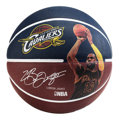 Ballon PLAYER LEBRON JAMES Spalding NBA T5
