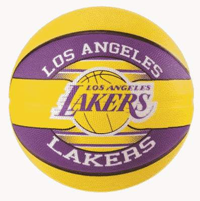 Ballon Los Angeles Lakers Spalding NBA T5