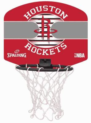 MINI-PANIER HOUSTON ROCKETS BF2019 - 40%