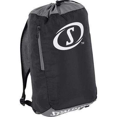 SACKPACK AUDULT ANTHRACITE SPALDING