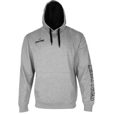 SWEAT A CAPUCHE TEAM II GRIS SPALDING