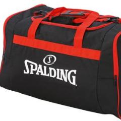 Sac de sport Spalding Medium Noir Rouge