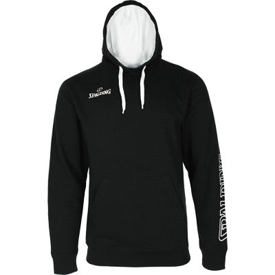 SWEAT A CAPUCHE TEAM II NOIR SPALDING