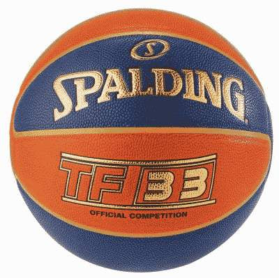 Ballon SPADING TF33 Taille 6 Composite Bleu Orange
