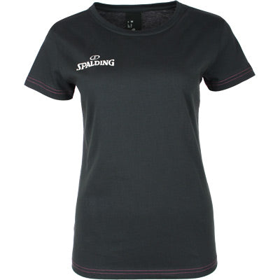 TEE SHIRT SPALDING 4 HER ANTHRACITE