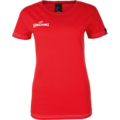 TEE SHIRT SPALDING 4 HER ROUGE