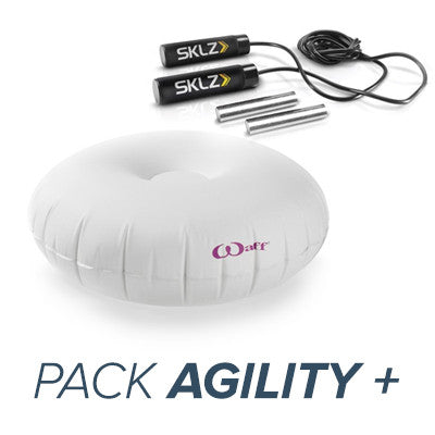 Pack Agility + : Corde Speed Rope + Waff mini