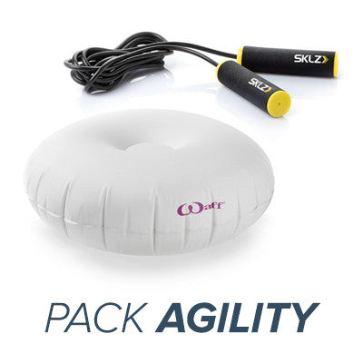 Pack Agility : Corde Jump Rope Intensity + Waff mini