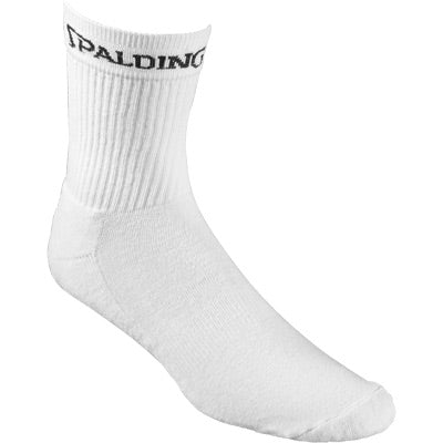 CHAUSSETTES  MOYENNES BLANCHES SPALDING