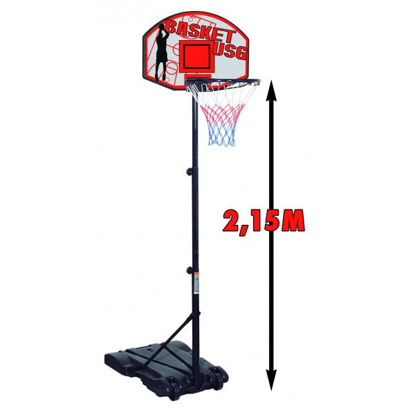 Panier de basket 215 lestable mobile