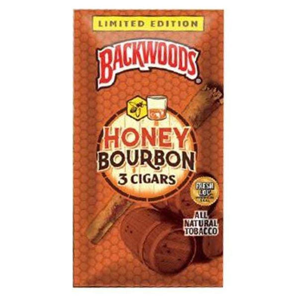 Backwoods Honey Bourbon 3pk.