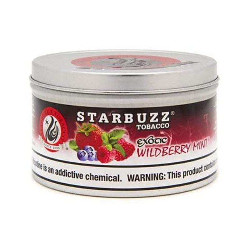 Starbuzz Exotic Wildberry Mint 250g.