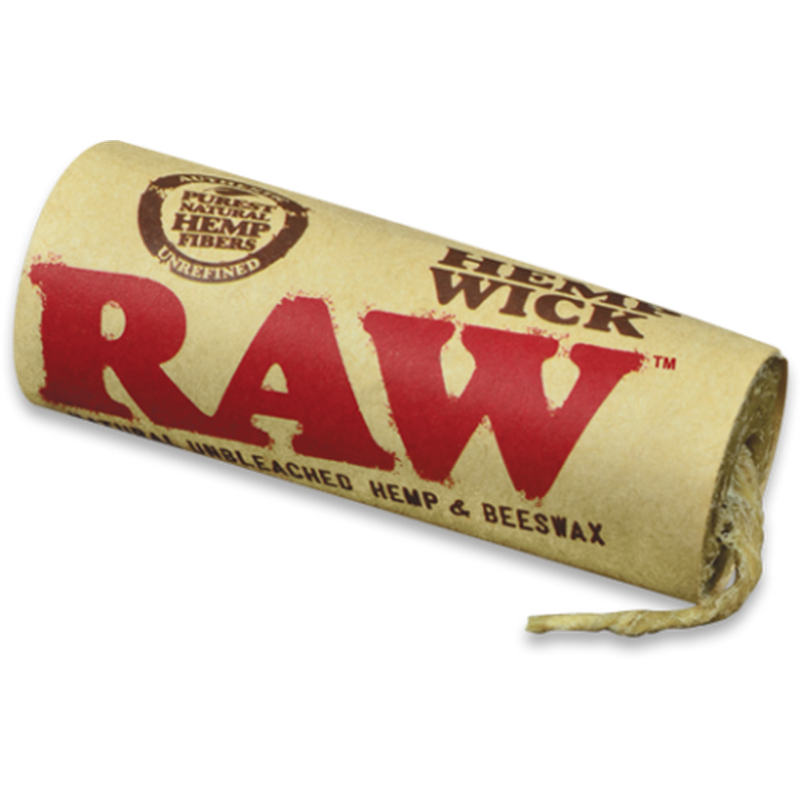 RAW Hemp Wick - 20ft.