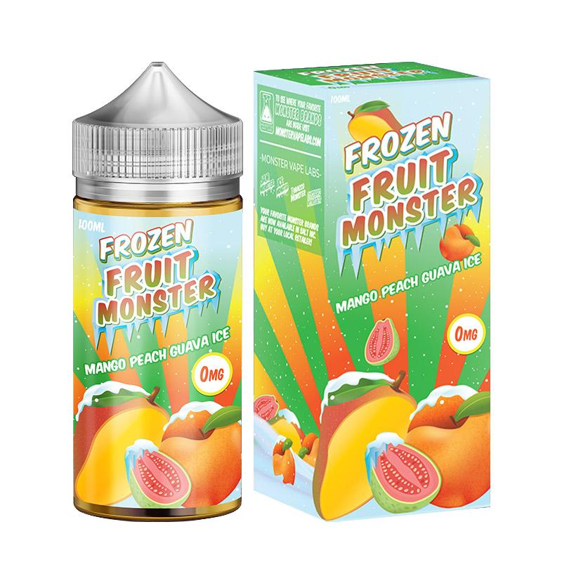 Frozen Fruit Monster Mango Peach Guava Ice 0%.
