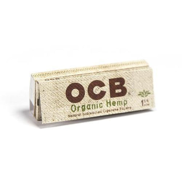 OCB Organic Hemp 1¼ + Tips.