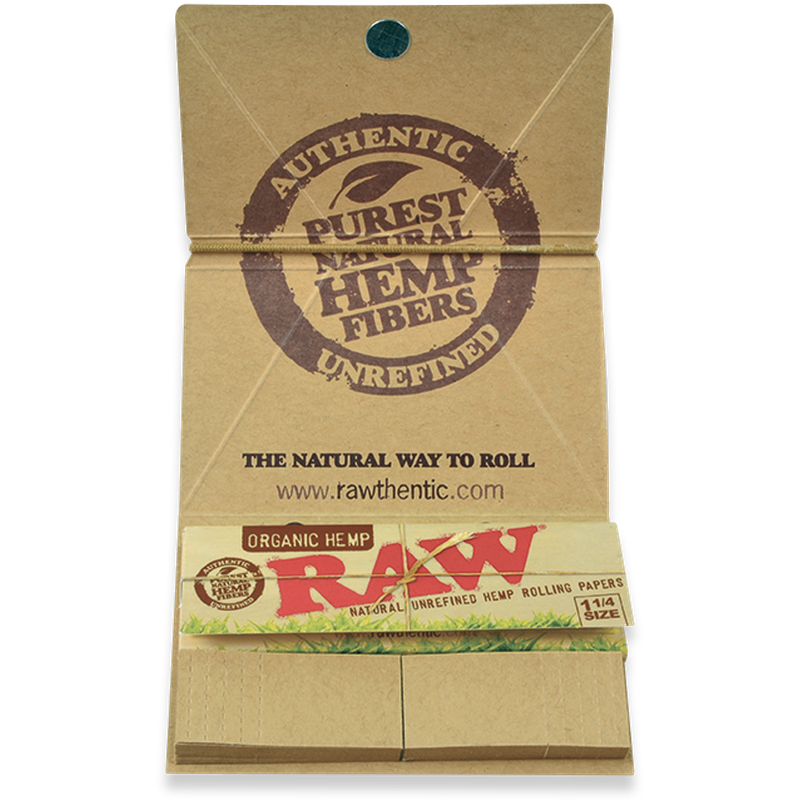 RAW Organic Hemp Artesano 1¼.