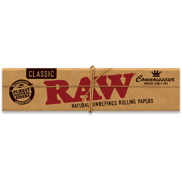 RAW Classic Connoisseur Kingsize Slim.