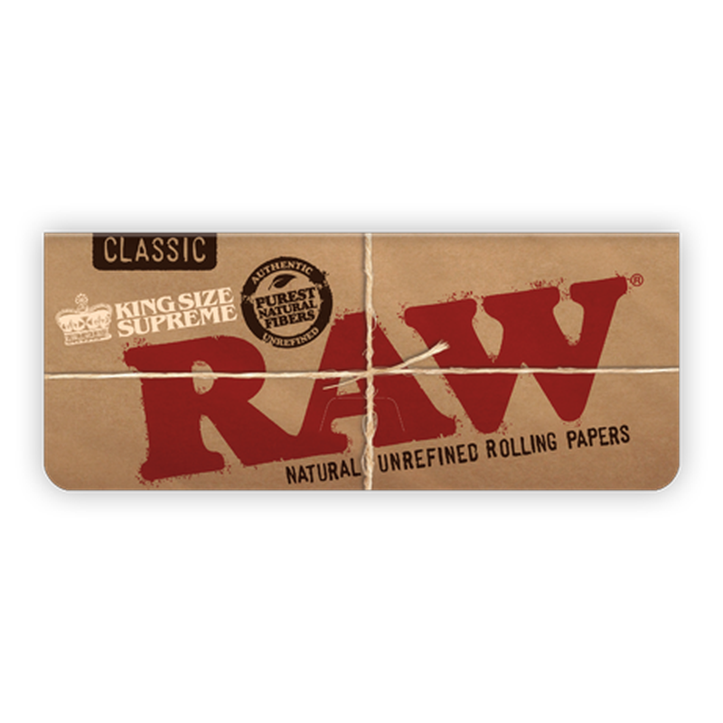 RAW Classic Creaseless Kingsize Supreme.