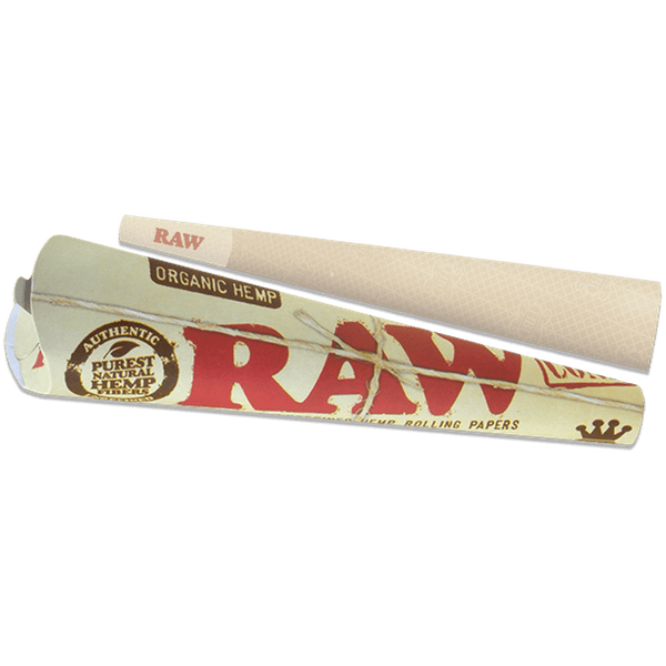 RAW Organic Hemp Kingsize Cones.