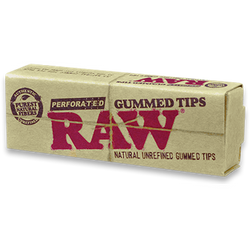 RAW Perforated Gummed Tips.