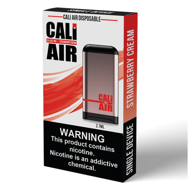 Cali Air Disposable Strawberry Cream.