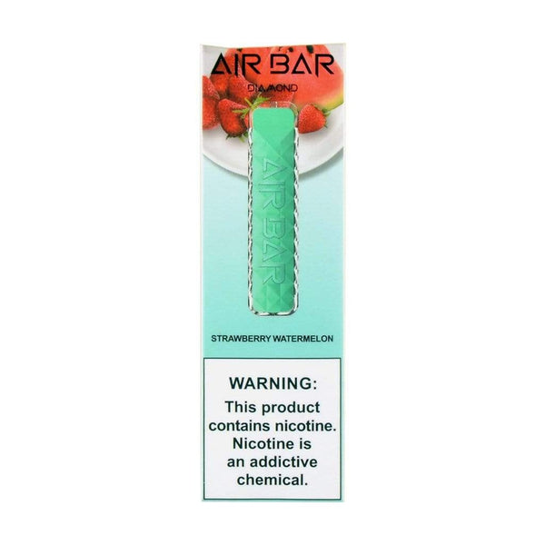 Air Bar Diamond Strawberry Watermelon.